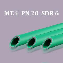 Pipe in bars PP-R/Fiberglass MT.4 PN 20
