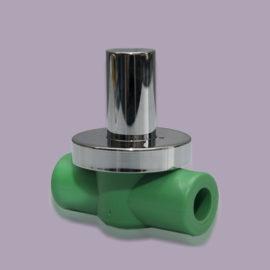 Ball valve with cap