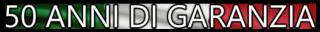 I prodotti Rietti Group sono garantiti per 50 anni di utilizzo continuo